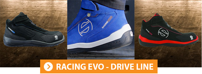 Collection RACING EVO Chaussures de sécurité Sparco Teamwork