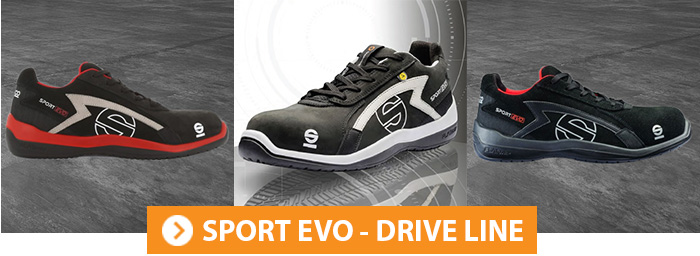 Collection SPORT EVO Chaussures de sécurité Sparco Teamwork
