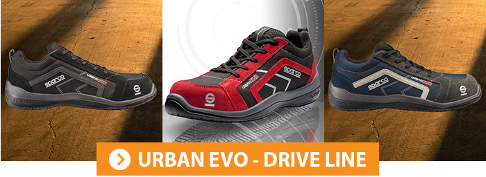 Collection URBAN EVO Chaussures de sécurité Sparco Teamwork