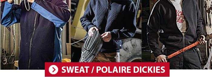 Sweat et polaire de travail Dickies