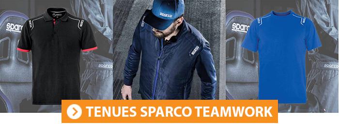 Tenues de travail Sparco Teamwork