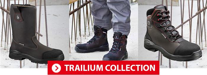 Collection Trailium Chaussures de sécurité Lemaitre