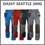 Pantalon travail robuste dassy seattle