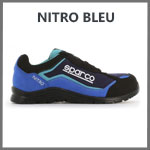 Basket securite Nitro Bleu Sparco Teamwork