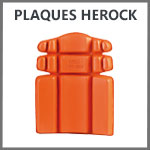 Plaques protection genoux Herock