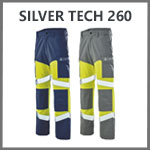 Pantalon de travail multirisques Silver Tech 260 Cepovett